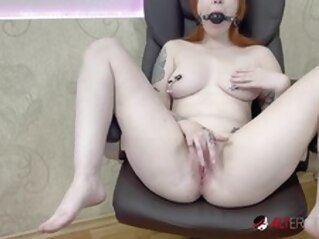 FapVid big tits tattoo shaved