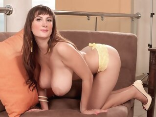 big tits high heels milf at FapVid